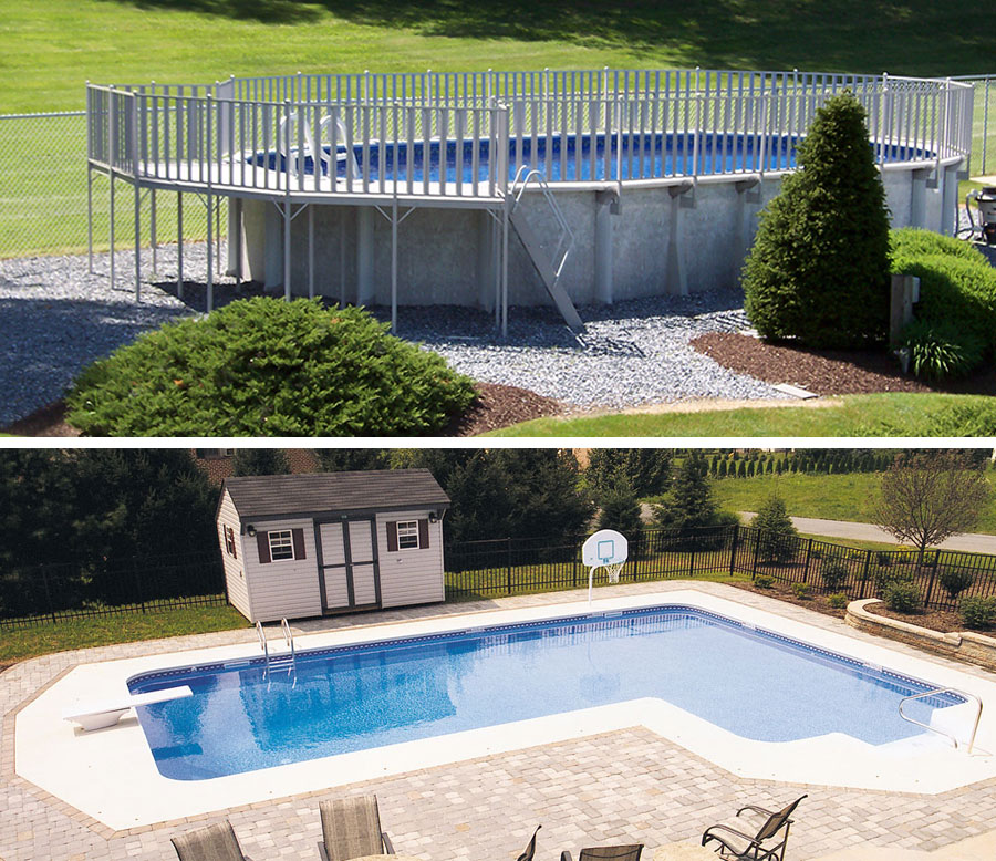 Inground vs. Aboveground Swimming Pools: Which is Right for ...