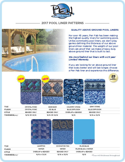 AboveGround Pool Liners
