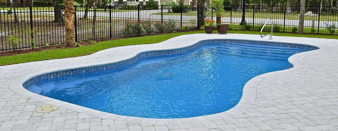 Fiberglass Pool Designs lil bob lx 135 x 355 Fiberglass Pools