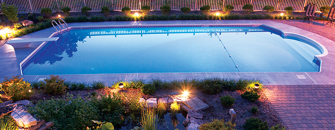 Inground Pools crystal pools - inground pools: design, installation & service