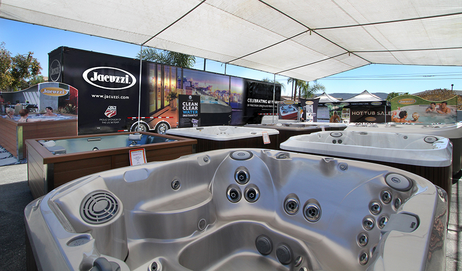 Why Buy a New Hot Tub in July? - Crystal Pools