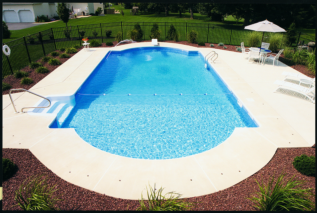 Inground Pools Design Installation Amp Service Crystal Pools