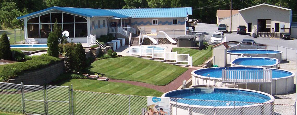 Aboveground Swimming Pools Crystal Pools